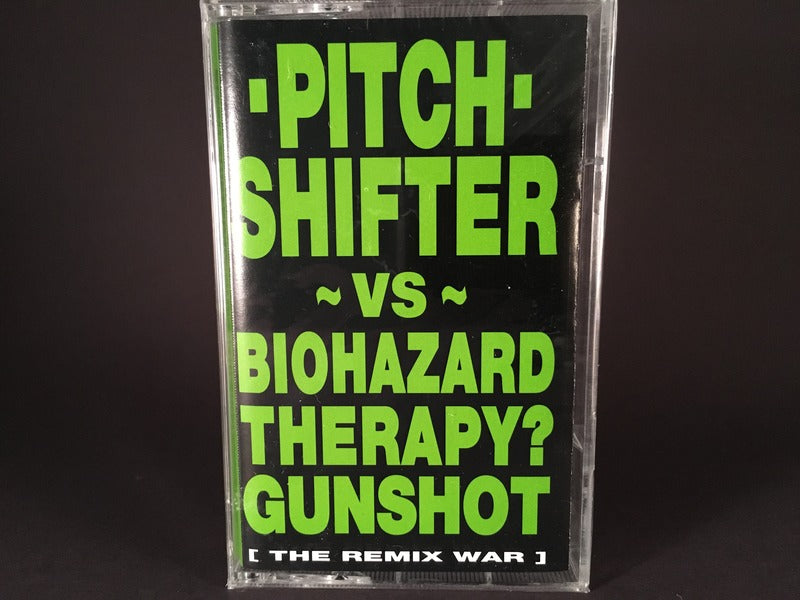 Pitch Shifter – [The Remix War] - BRAND NEW CASSETTE TAPE - [SALE]