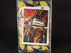 DUB WAR - pain - BRAND NEW CASSETTE TAPE - dub