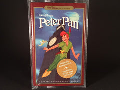 WALT DISNEY'S PETER PAN - classic soundtrack (digitally remastered) - BRAND NEW CASSETTE TAPE - childrens