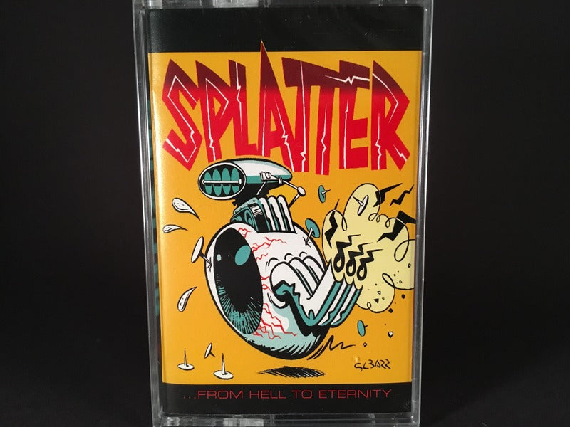Splatter – ...From Hell To Eternity - BRAND NEW CASSETTE TAPE - psychobilly