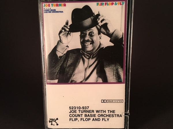 Joe Turner With Count Basie And His Orchestra – Flip, Flop And Fly - BRAND NEW CASSETTE TAPE - swing