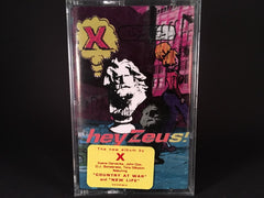 X - hey zeus! - BRAND NEW CASSETTE TAPE - punk