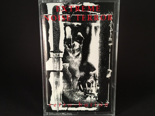 Extreme Noise Terror – Retro-Bution - BRAND NEW CASSETTE TAPE - hardcore
