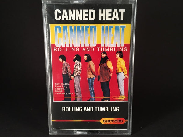 Canned Heat – Rolling And Tumbling - BRAND NEW CASSETTE TAPE