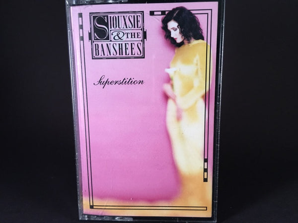 Siouxsie & The Banshees – Superstition - BRAND NEW CASSETTE TAPE