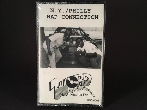 NY-Philly Rap Connection - various artists - BRAND NEW CASSETTE TAPE - hiphop