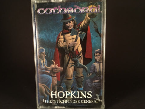 Cathedral – Hopkins (The Witchfinder General) EP - BRAND NEW CASSETTE TAPE - doom