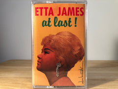 ETTA JAMES - at last! - BRAND NEW CASSETTE TAPE