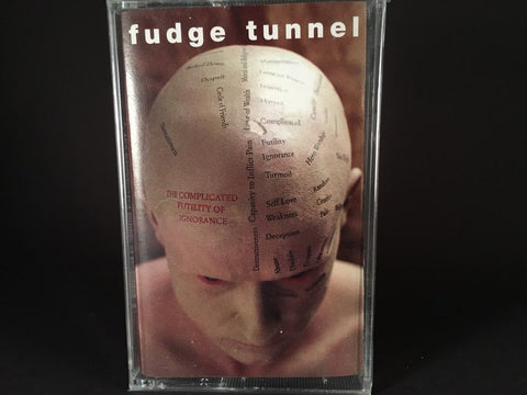 Fudge Tunnel – The Complicated Futility Of Ignorance - BRAND NEW CASSETTE TAPE - metal