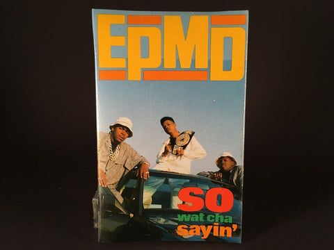 EPMD – So Wat Cha Sayin' - BRAND NEW CASSETTE TAPE - CASSINGLE - hiphop