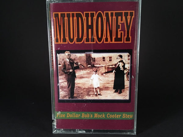 Mudhoney – Five Dollar Bob's Mock Cooter Stew EP - BRAND NEW CASSETTE TAPE