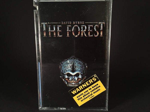 DAVID BYRNE - The Forest - BRAND NEW CASSETTE TAPE - electronic