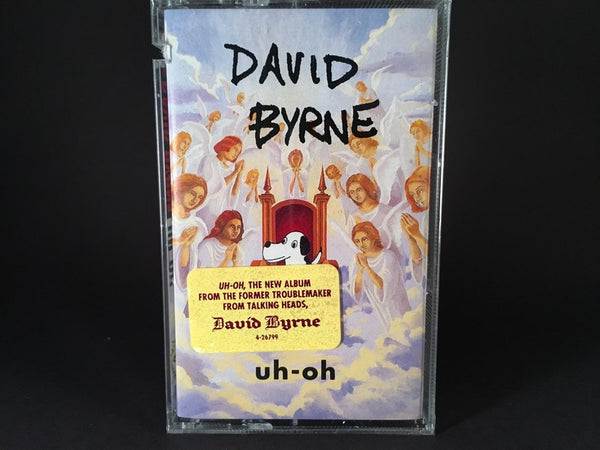 DAVID BYRNE - uh-oh - BRAND NEW CASSETTE TAPE [SALE]