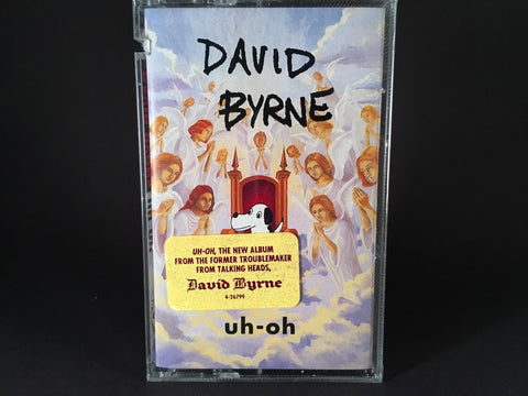 DAVID BYRNE - uh-oh - BRAND NEW CASSETTE TAPE [has saw mark]