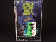 Teenage Mutant Ninja Turtles II: The Secret Of The Ooze - The Original Motion Picture Soundtrack - BRAND NEW CASSETTE TAPE - hiphop