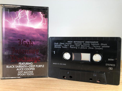 HIGH INTENSITY DISCHARGE - various artists - CASSETTE TAPE