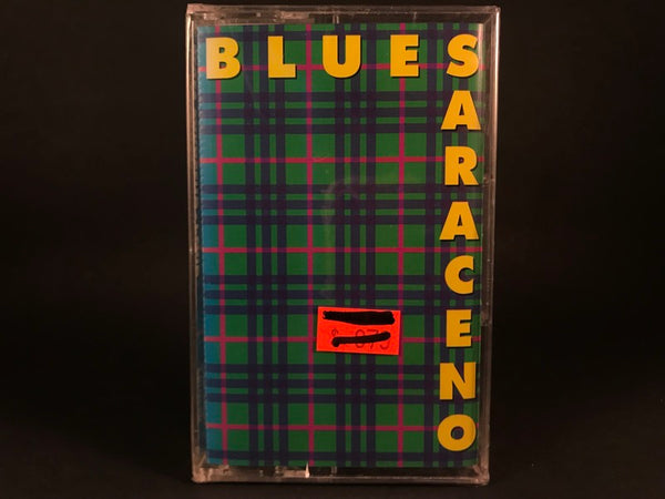 Blues Saraceno - plaid - BRAND NEW CASSETTE TAPE
