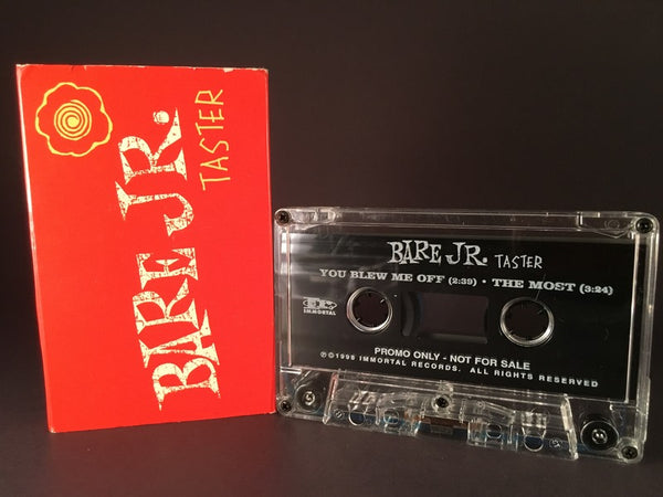 BARE JR. - taster - CASSETTE TAPE - SINGLE - alternative