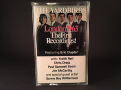 The Yardbirds - London 1963: The First Recordings! - BRAND NEW CASSETTE TAPE - blues