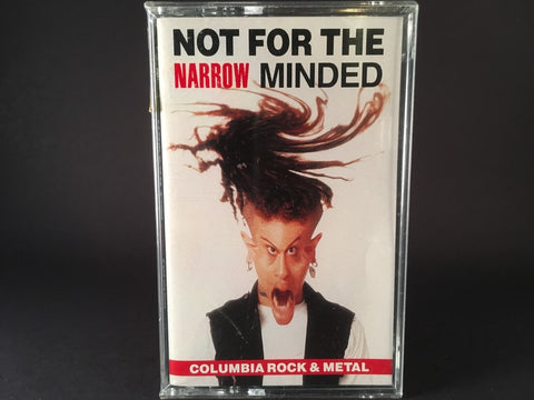 NOT FOR THE NARROW MINDED: COLUMBIA ROCK & METAL - various artists - BRAND NEW CASSETTE TAPE