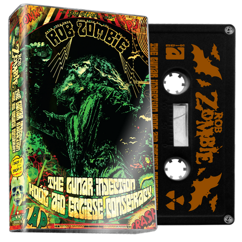 ROB ZOMBIE - The Lunar Injection Kool Aid Eclipse... - BRAND NEW CASSETTE TAPE [PRE-ORDER]