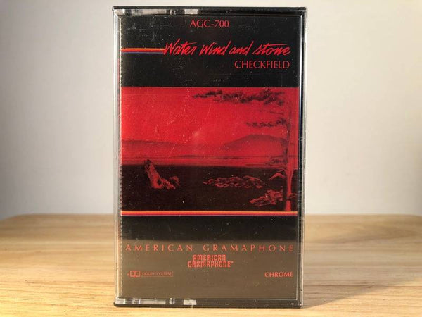 CHECKFIELD - water wind and stone - BRAND NEW CASSETTE TAPE