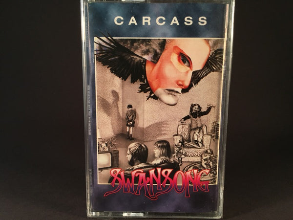 Carcass - Swansong - BRAND NEW CASSETTE TAPE