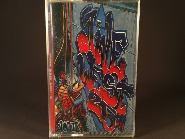 Jive West 25th Vol.2 - various artists - BRAND NEW CASSETTE TAPE - hiphop