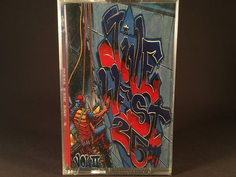 Jive West 25th Vol.2 - various artists - BRAND NEW CASSETTE TAPE - hiphop - R. Kelly/Aaliya/Fu Schnickens/Silk
