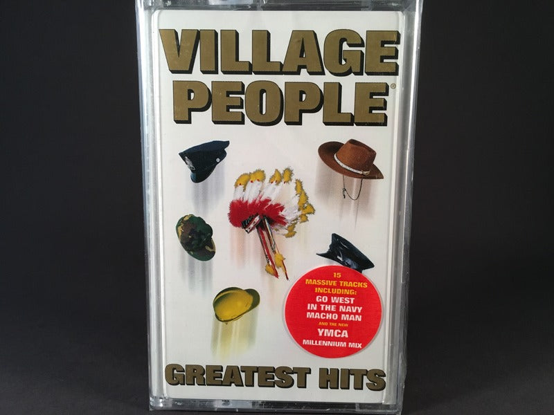 VILLAGE PEOPLE - greatest hits - BRAND NEW CASSETTE TAPE