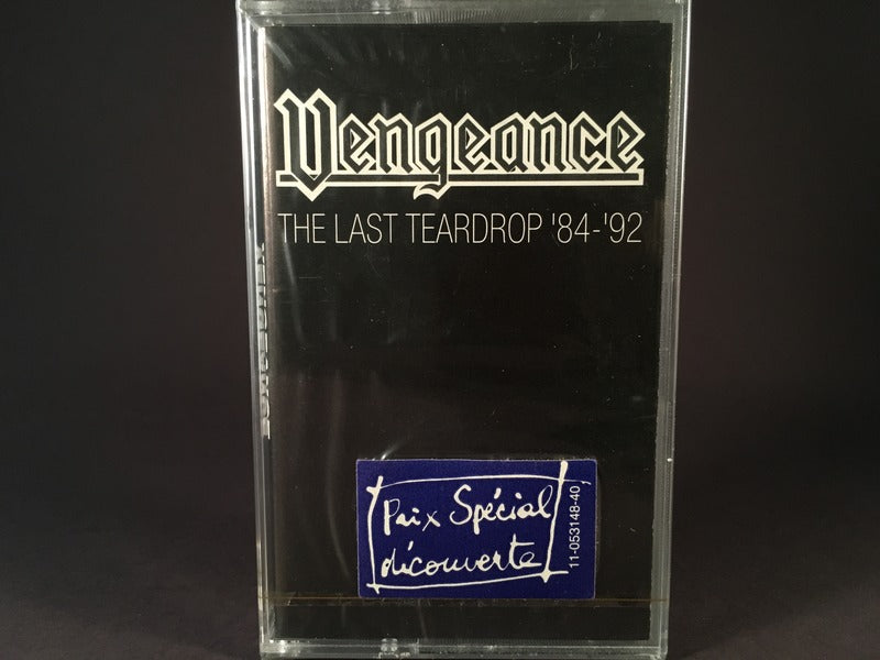 Vengeance - The Last Teardrop '84 - '92 - BRAND NEW CASSETTE TAPE - metal