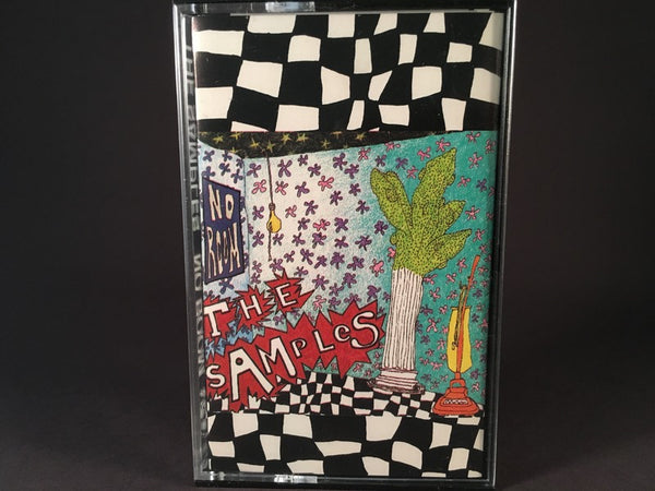 THE SAMPLES - no room - BRAND NEW CASSETTE TAPE