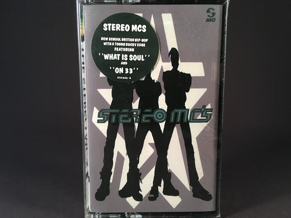 The Stereo MC's - s/t - BRAND NEW CASSETTE TAPE - triphop