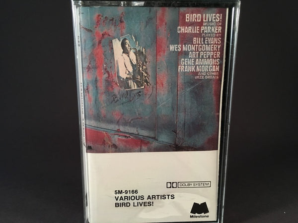 Bird Lives! Music Of Charlie Parker - various artists - BRAND NEW CASSETTE TAPE - jazz