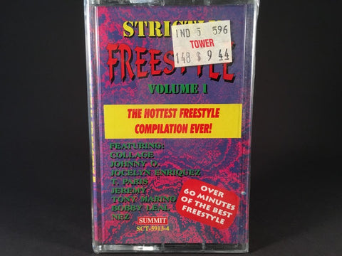 Strictly Freestyle Volume 1 - various artists - BRAND NEW CASSETTE TAPE - dance