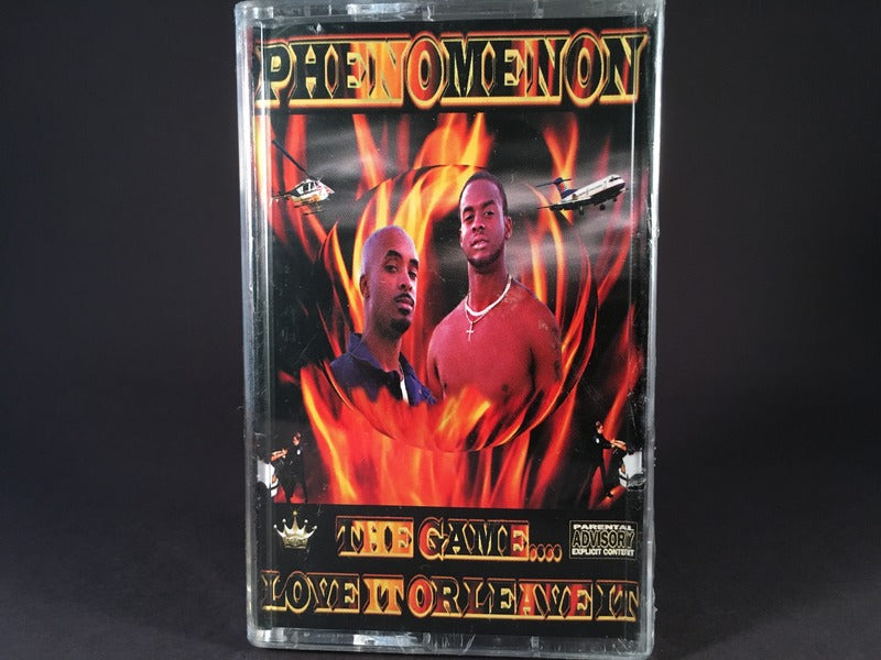 Phenomenon - The Game...Love It Or Leave It - BRAND NEW CASSETTE TAPE - funk