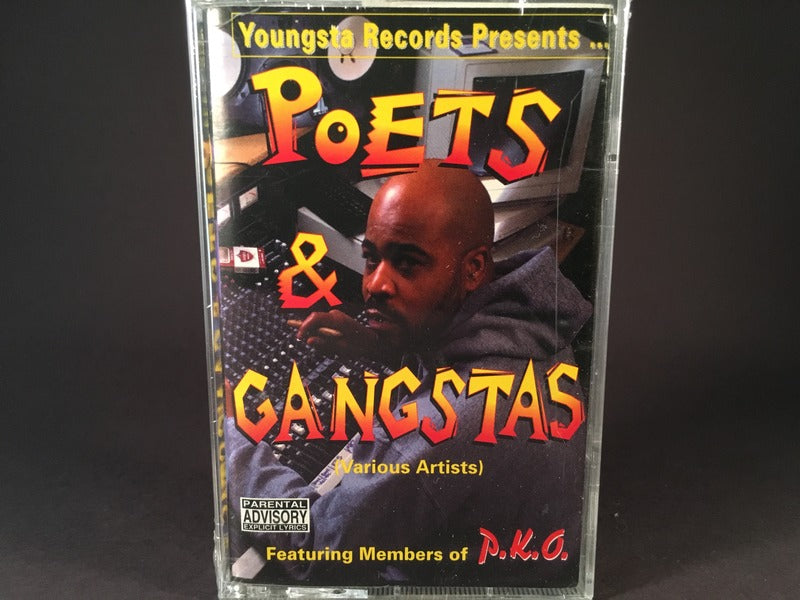 Poets & Gangstas - various artists - BRAND NEW CASSETTE TAPE - hiphop