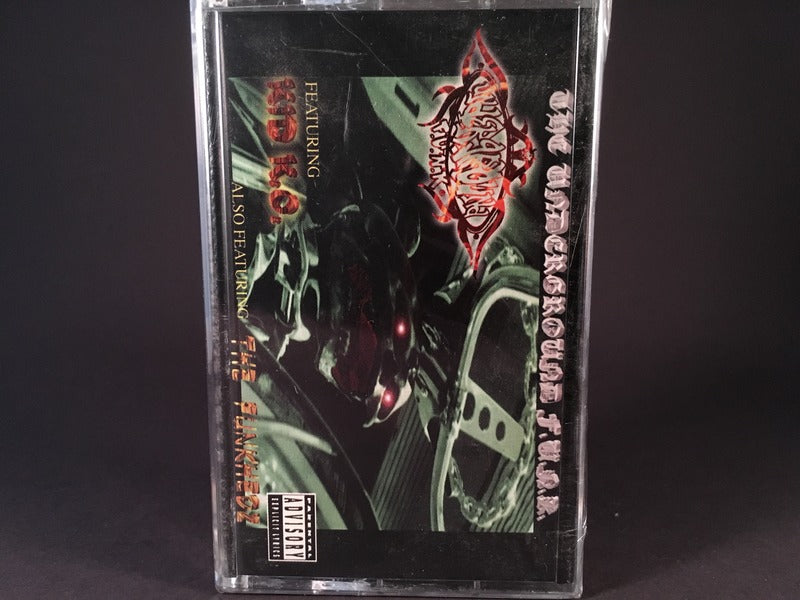 The Underground F.U.N.K. - s/t - BRAND NEW CASSETTE TAPE - hiphop