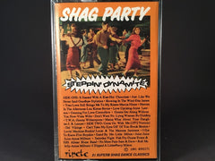 SHAG PARTY: STEPPIN' DYNAMITE - varios artists - BRAND NEW CASSETTE TAPE - oldies