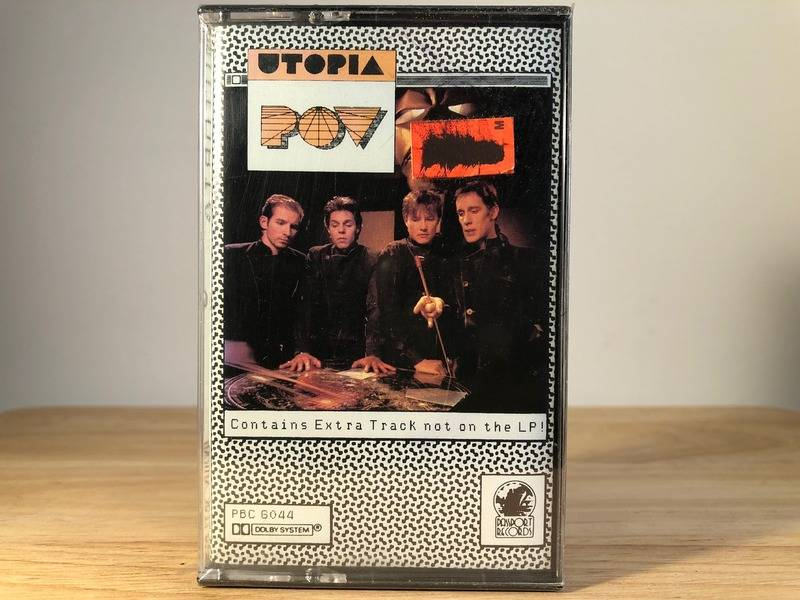 UTOPIA - POV - BRAND NEW CASSETTE TAPE