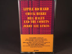 ROCK 'N' ROLL INVASION - various artists - BRAND NEW CASSETTE TAPE - compilations