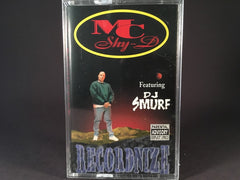 MC Shy-D Featuring DJ Smurf - Recordnize - BRAND NEW CASSETTE TAPE - bass