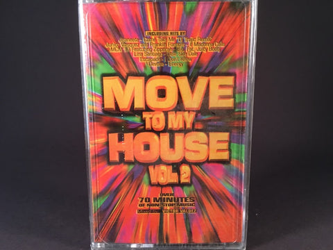 Victor Valdez - Move To My House Vol.2 - various - BRAND NEW CASSETTE TAPE - house