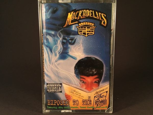 Mackadelics - Exposed To The Game - BRAND NEW CASSETTE TAPE