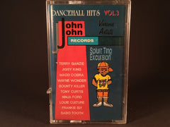 Splurt Ting Excursion John John Dancehall Hits Vol.3 - various - BRAND NEW CASSETTE TAPE - reggae