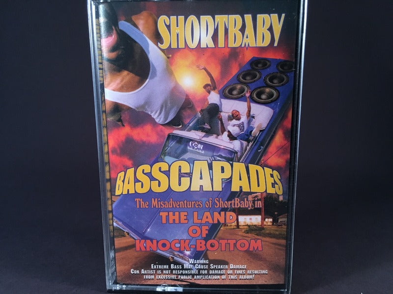 Shortbaby - Basscapades: The Misadventures Of Shortbaby In The Land Of Knock-Bottom - BRAND NEW CASSETTE TAPE - bass