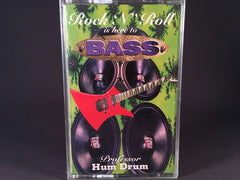Professor Hum Drum - Rock 'N' Roll Is Here To Bass - BRAND NEW CASSETTE TAPE - bass