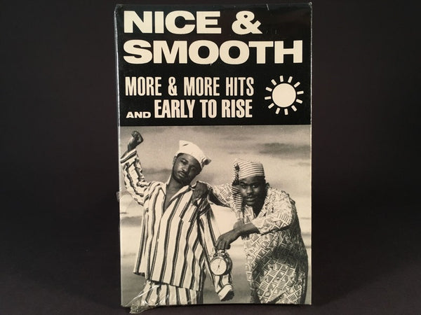 Nice & Smooth - More & More Hits / Early To Rise - BRAND NEW CASSETTE TAPE - CASSINGLE - hiphop