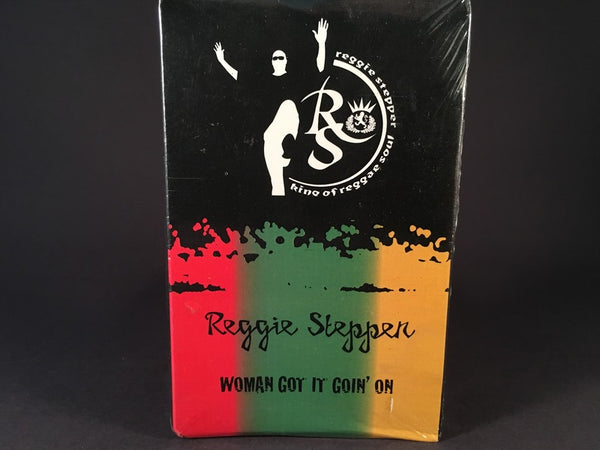 Reggie Stepper - Woman Got It Goin' On - (cassingle) - BRAND NEW CASSETTE TAPE