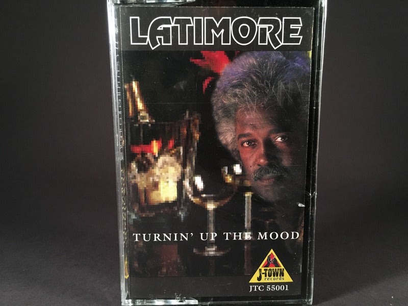 Latimore - Turnin' Up The Mood - BRAND NEW CASSETTE TAPE - funk